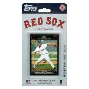 Topps Boston Red Sox 2007 Baseball Card Team Set