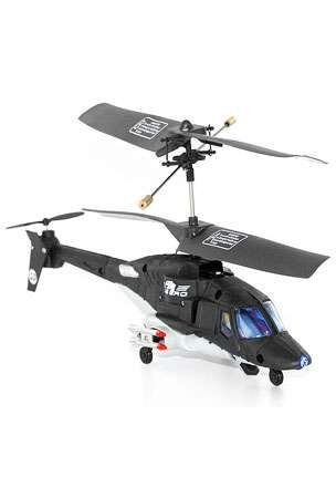 3 Channel Air Wolf Counter-Rotating RC Helicopter