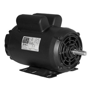 Air compr motor 7 5 hp 1745 rpm 208 230v for 1 hp motor capacitor rating