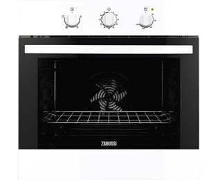 Zanussi ZOB31301WK Built In Electric Single Oven - White. It Will Perfeclty Look Great Built Into Your Kitchen