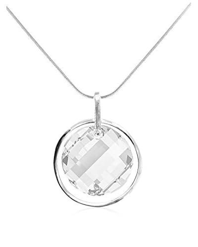 So Charm with Crystals from Swarovski Collar  Plateado