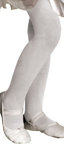 Forum Novelties White Costume Tights, Child Medium