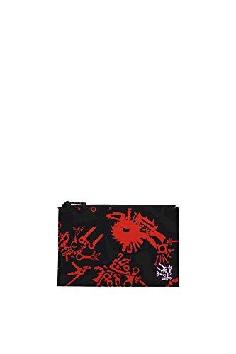 Clutches-Kenzo-Damen-Nylon-Mehrfarben-F111PM30119K21-Multicolor-15x23-cm