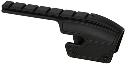 Weaver No-Gunsmith Converta Shotgun Mount - Remington 870, 1100, and 1187 (12 and 20 Gauge) Gloss Black