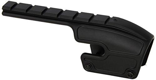 Weaver No-Gunsmith Converta Shotgun Mount - Remington 870, 1100, and 1187 (12 and 20 Gauge) Gloss Black
