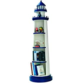 Lighthouse Shelf Unit