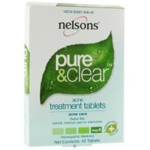 Nelsons Bach Pure and Clear Acne Treatment Tablet - 48 per pack -- 6 packs per case.