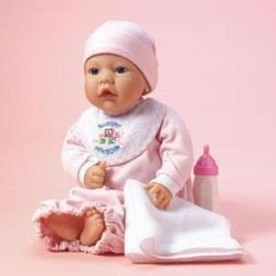 Lee Middleton My First Nursery Baby with Light Pink Outfit