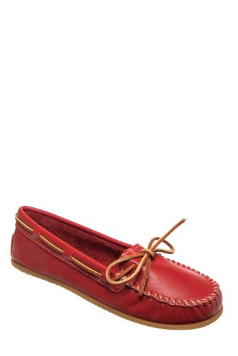 Minnetonka 616 Smooth Leather Moccasin