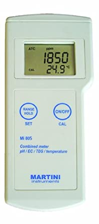 Milwaukee Mi805 Portable pH/EC/TDS/Temperature Meter
