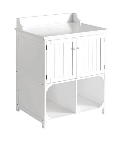 Premier Housewares Mobile da Bagno 2401450 Bianco