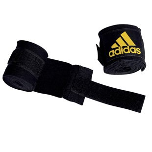 adidas Boxing Hand Wraps 4.5m - Black