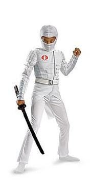 Storm Shadow Light Up Deluxe Muscle Child Costume Size Medium (7-8)