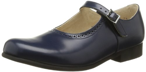 Start Rite - Scarpe elegante Clare, Bambina, Blu (Bleu (Navy Leather)), 32