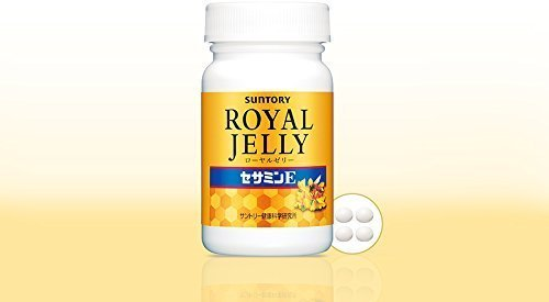 Suntory Royal Jelly + Sesamin E 120 tablets (30 days' supply) (Japan Import) (Japanese Royal Jelly compare prices)