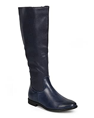 Wonderful  Boots  Daniel  Daniel Navy Emburey Womens Knee High Boot