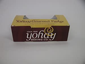 Yohay Chocolate Peanut Butter Swirl Fudge - 1/2Lb Box