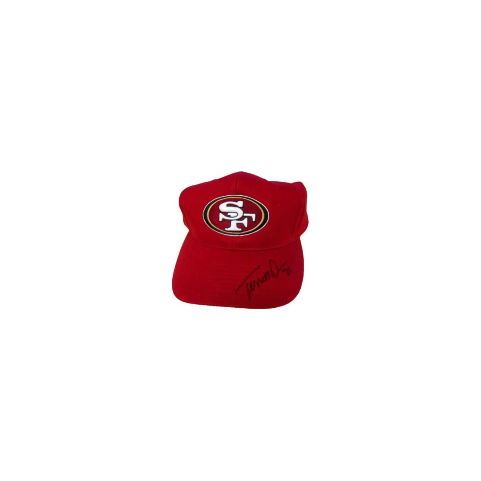 Terrell Owens Autographed San Francisco 49ers Hat
