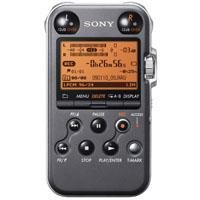 3140IUngdiL Sony PCM M10 Portable Linear PCM Voice Recorder with Electret Condenser Stereo Microphones, 96 kHz/24 bit, 4GB Memory & USB High Speed Port   Black