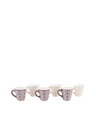 Enjoy Home Set Taza Moka 6 Uds. Etnika
