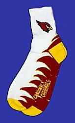 Arizona Cardinals Team Socks - Buy Arizona Cardinals Team Socks - Purchase Arizona Cardinals Team Socks (Bare Feet, Bare Feet Socks, Bare Feet Mens Socks, Apparel, Departments, Men, Socks, Mens Socks, Athletic, Athletic Socks, Mens Athletic Socks)