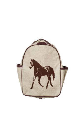 SoYoung Toddler Backpack - Brown Horse - 1