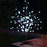Anywhere LED with Leaves Tree Flower Color: White
