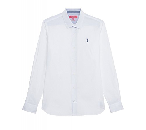 Vicomte A.-cartelle, camicia vicomte arthur oxford, Bianco (bianco), 42