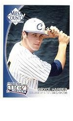 Bryce Harper RC 2010 JUCO World Series Rookie card Washington Nationals in a one touch display case.