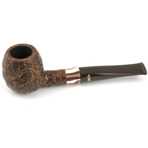 Savinelli Caramella Rusticated (207) Tobacco Pipe (includes free pack of balsa filters)