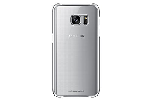 Samsung Galaxy S7 Case Clear Protective Cover - Silver