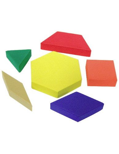 Teacher Created Resources Foam Pattern Blocks (20612)