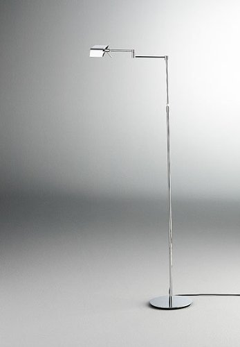 Holtkoetter 9680Ledp1 Hbob Led Low-Voltage Swing-Arm Floor Lamp With Dimm-System P1, Hand-Brushed Old Bronze