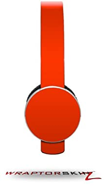 buy Solids Collection Red Decal Style Skin (Fits Sol Republic Tracks Headphones - Headphones Not Included)