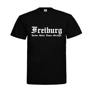 MDMA T-Shirt Freiburg Harder, Better, Faster, Stronger mdma-t00297