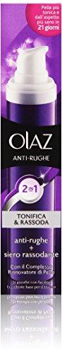 Olaz Antirughe Tonifica & Rassoda 2in1 Crema Anti-età & Siero Rassodante, 50 ml