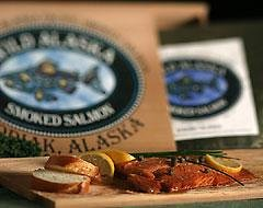 1/2 pound Wild Sockeye Fillet in Red Cedar Gift Box