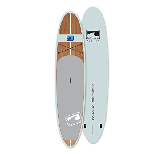 """The Woody 10'6"""" Stand Up Paddle Board – Blu Wave SUP UK 10.6 (Chalk Blue)"""