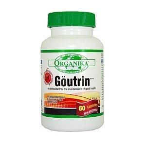 Goutrin -Uric Acid Neutralizer For Gout (60 Capsules) Brand: Organika