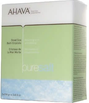 Ahava Dead Sea Bath Crystals - 2x250g