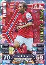 Match Attax 2013/2014 Mathieu Flamini Arsenal Star Signing 13/14