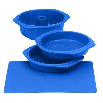 Silicone Solutions Blue Cake Baking Set - Buy Silicone Solutions Blue Cake Baking Set - Purchase Silicone Solutions Blue Cake Baking Set (, Home & Garden, Categories, Kitchen & Dining, Cookware & Baking, Baking, Bakeware Sets)