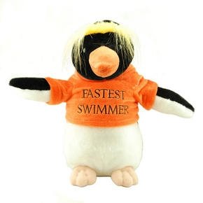Penguin Soft Toy - Cute & Cuddly, With T-Shirt