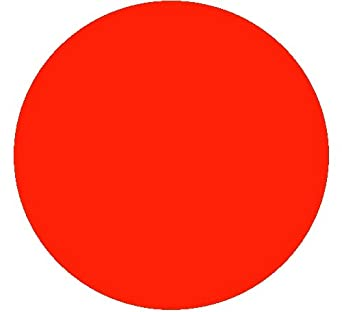 Kwik-Cover 36-R 36'' Round Kwik-Cover- Red Fitted Table Cover (1 full case of 100)