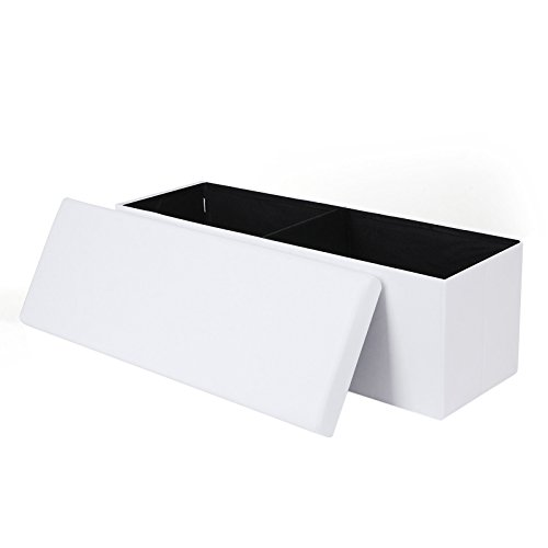 songmics-large-storage-ottoman-foldaway-toy-box-bench-white-433-x-15-x-15-lsf712