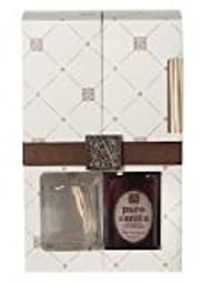 PURE VANILLA Aromatique ROUND RIBBED Reed Diffuser Gift Set