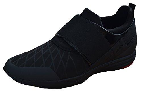 BOSS Sneaker Hybrid_Runn_mx mit Lederbesatz 50315619 Damen, Schwarz, 40 thumbnail