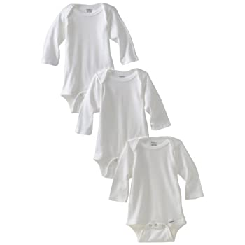 Set A Shopping Price Drop Alert For Gerber Unisex-Baby Newborn 3 Pack Longsleeve Onesie