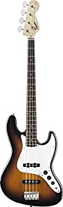Fender Squier® Affinity Jazz Bass®, Brown Sunburst, Rosewood Fretboard