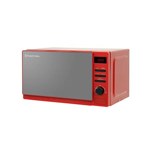 Russell Hobbs RHM2079RSO 20L Rosso Digital Microwave, Red